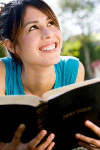 Youth Girl with Bible