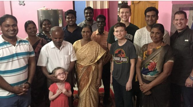 Pastor Ebenezer & Family